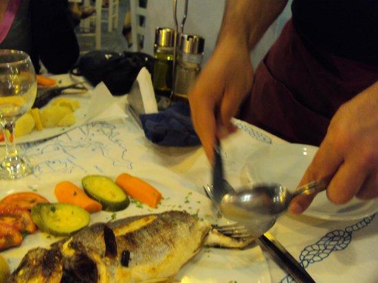 Peros Restaurant: Black Volcano Fish