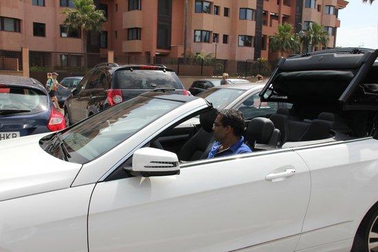 Gran Hotel Guadalpin Banus: on the way to parking