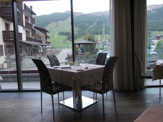 Hotel Concordia: panorama dal ristorante