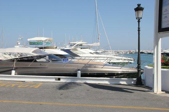 Gran Hotel Guadalpin Banus: yacht