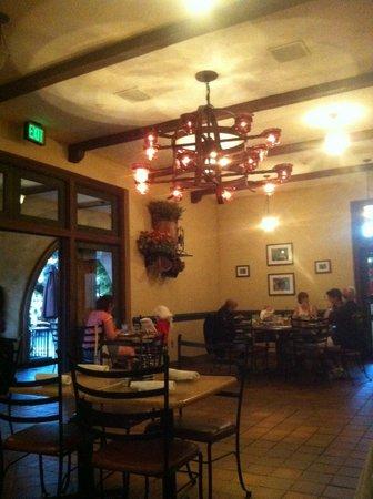 Wine Country Trattoria: Le restaurant