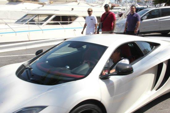 Gran Hotel Guadalpin Banus: on the way