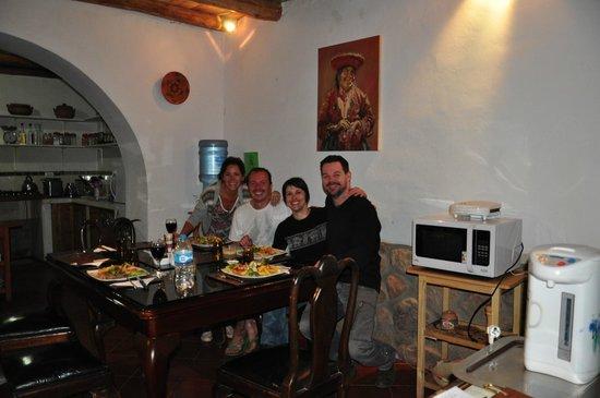 La Capilla Lodge: dinner together