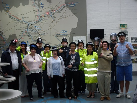 Greater Manchester Police Museum: All dressed up!