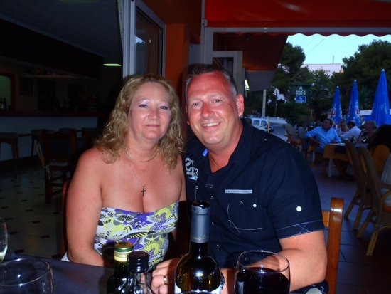 Me and my wife at La Dorada