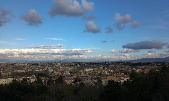 Panorama dalla terrazza del Gianicolo - Bild von Gianicolo, Rom ...