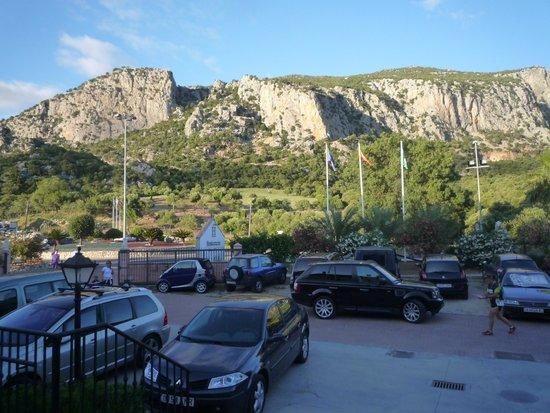Hotel Sierra de Ubrique: Vista desde la terraza