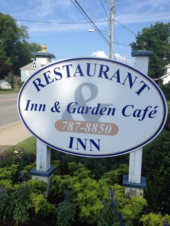 The Inn & Garden Cafe: Upon arrival
