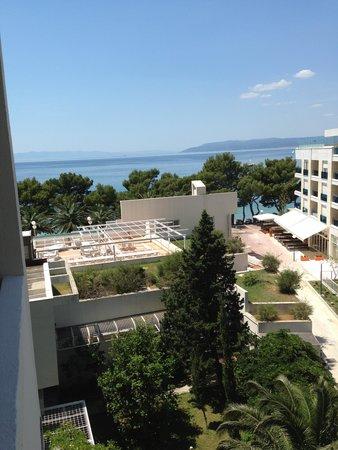 """Hotel Meteor: Utsikt från """"rum på sidan"""" våning 2"""