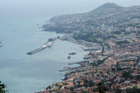 Casa Velha do Palheiro: View of Funchal from the hotel driveway
