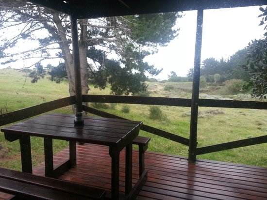 Kwelanga Country Retreat: From inside the chalet