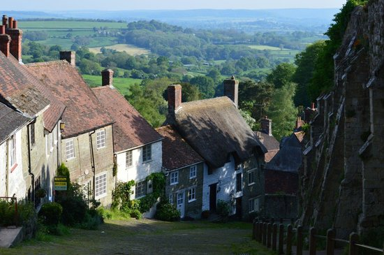 Shaftesbury, UK: The view