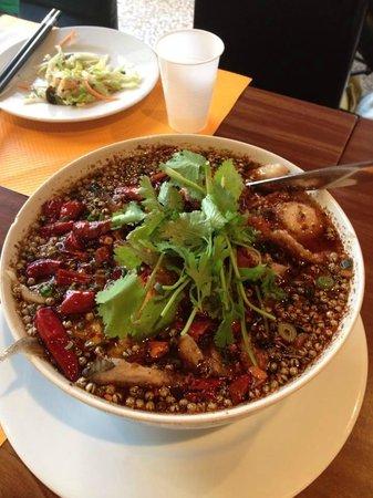 Soupe Sichuan