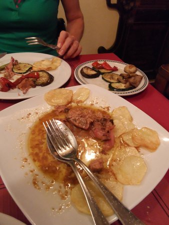 El Pederniz: Wachtel gefüllt mit Foie gras