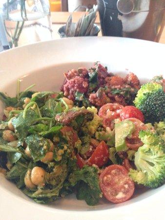 The Foodstory Cafe: Three-salad bowl