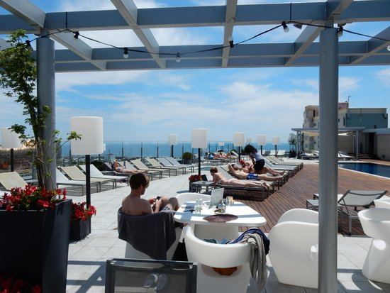 Pullman Barcelona Skipper: rooftop view