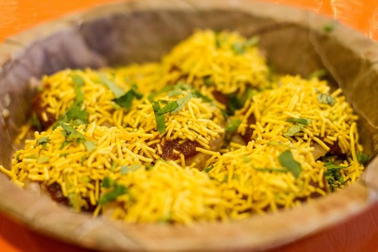 The Spice Emporium, Durban: Enjoy delicious Sev Puri served at The Snack Bar, our in-store restaurant.