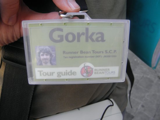 Runner Bean Tours Barcelona : Gorka, our excellent tour guide for the Old City Tour