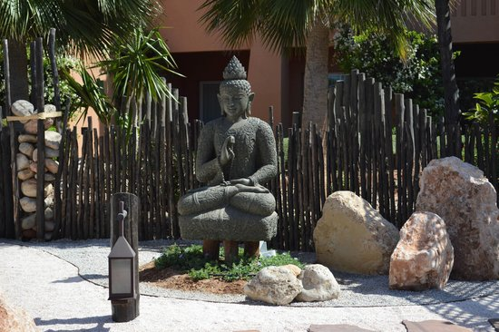 Paradis Plage Surf Yoga & Spa Resort : Zen garden