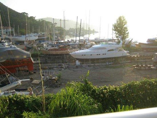 Marina Boutique Fethiye  Hotel: the boat yard