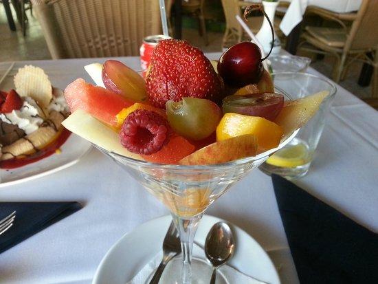 Restaurante S'albufera: Fruktsallad
