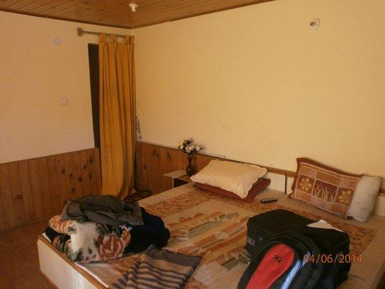 Indraprastha Cottages: Ordinary mattress