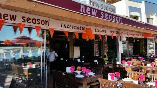 New Season Restaurant : AKŞAM SERVİSİ HAZIRLIK