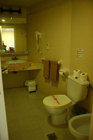 Aparthotel Elisa: Toaletten