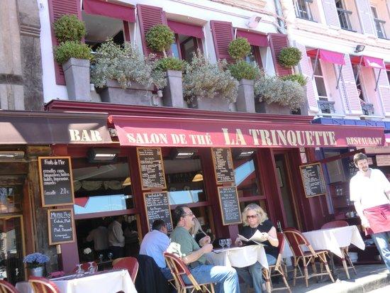 LA TRINQUETTE : restaurant