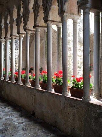 The Columns of Villa Rufolo