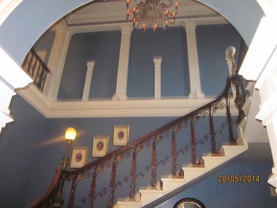 Old Park Hotel: Ornate Staircase