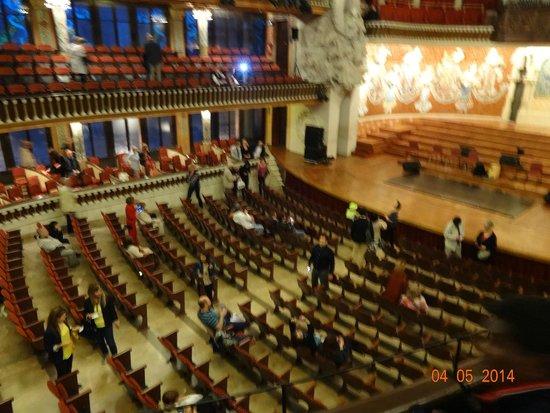 Palais de la Musique Catalane (Palau de la Musica Catalana) : Сцена