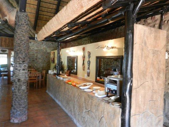 Bayala Game Lodge: Frühstücksbuffet