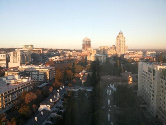 Radisson Blu Hotel Sandton, Johannesburg: View from my room