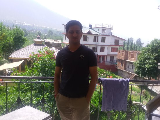 Hotel Chander Tal: View from room balcony