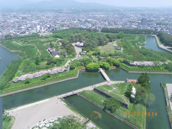 Goryokaku Park : View from the tower