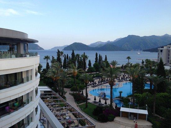 D-Resort Grand Azur: View from Steak Bar Restaurant