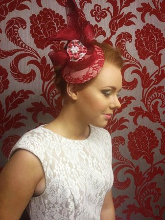 Nor Lisa Fashion Boutique: Locally made head piece can be custom made to match your outfit or rent the ones we have!