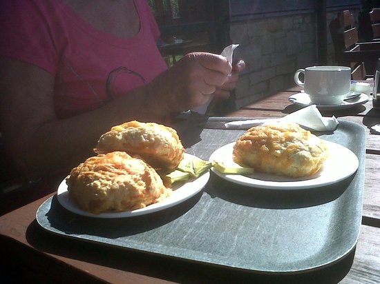 Rising Sun Country Park: Best scones in the North-East!