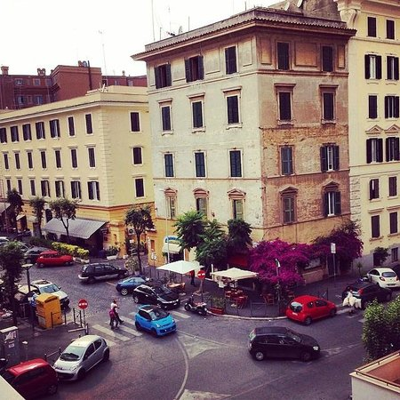 Al Colonnato di San Pietro Bed and Breakfast: View from the balcony of the Sun Space apartment.