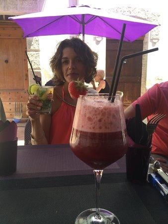 Cocktail LE 17 et Mojito un délice!!!