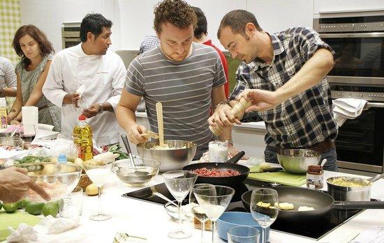 Hands-on cooking workshops