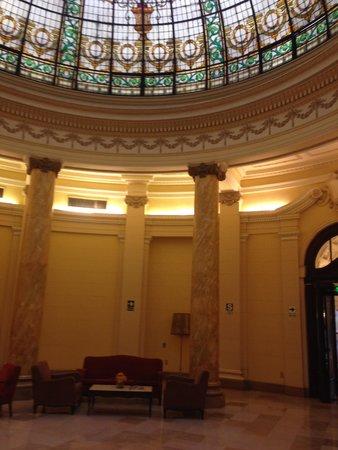 Gran Hotel Bolivar : le hall d'entree