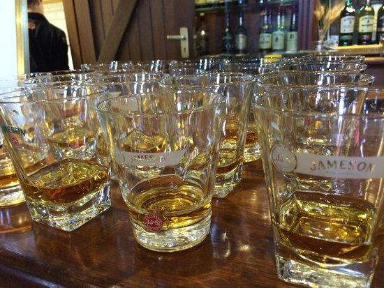 The Jameson Experience: So many choices!