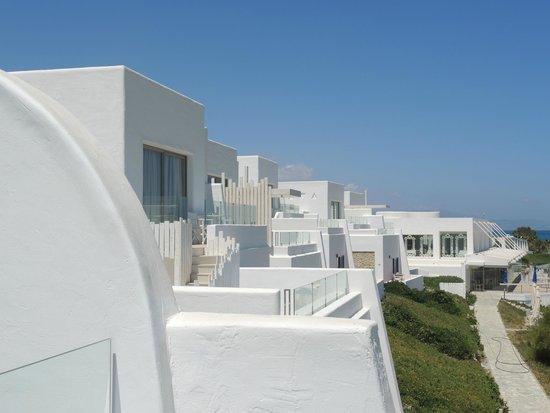 Knossos Beach Bungalows & Suite : территория отеля