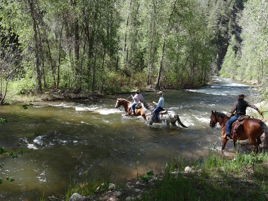 Colorado Trails Ranch: River Crossing