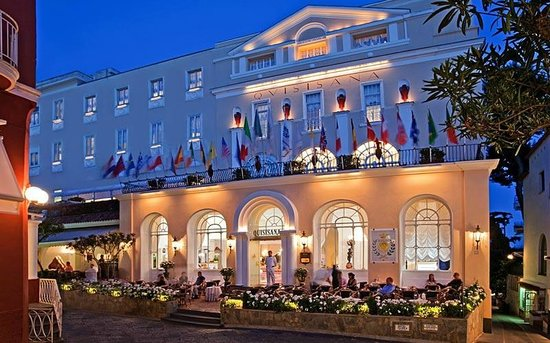 Grand Hotel Quisisana Esterno