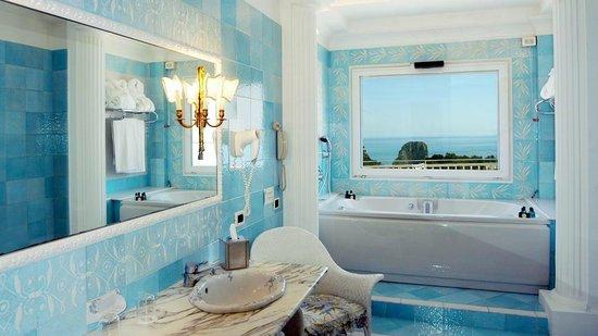 Grand Hotel Quisisana: bagno