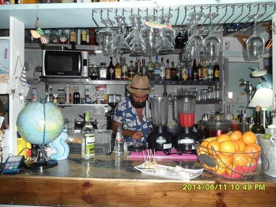Agua Tiki Bar: The genius at work