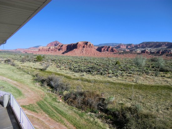 Capitol Reef Resort: Blick vom Balkon